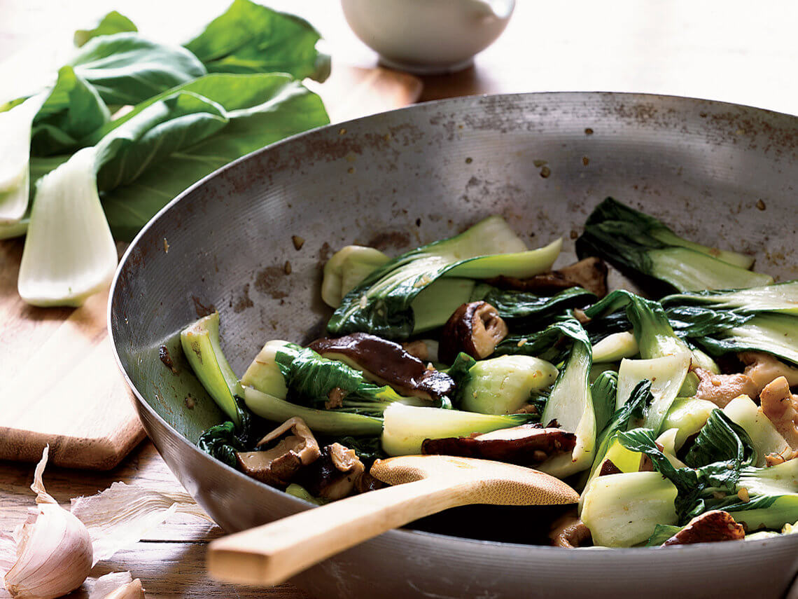 Charles Phan Bok Choy Courtesy of Food and Wine