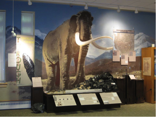 The exhibit, Through the Looking Glass: Obsidian Travel and Trade in the Great Basin, at the Utah State University Museum of Anthropology.