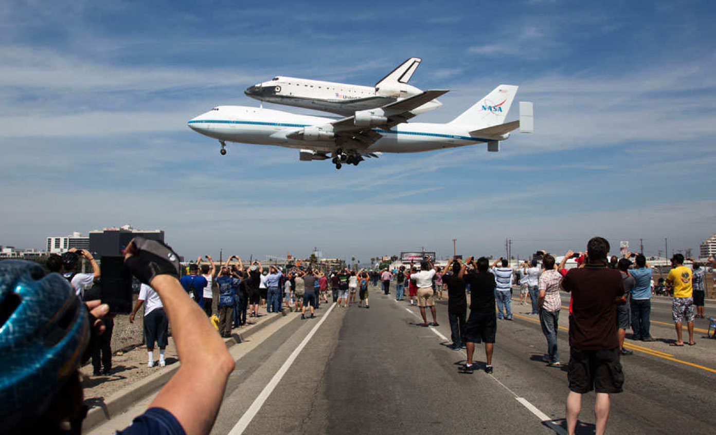 where is endeavour space shuttle right now - photo #36